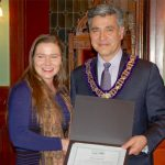 War Amps champ receives certificate from Carleton Place Council