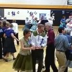 Mississippi Squares annual halfway dance draws crowd of 300