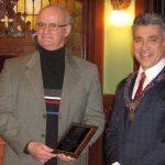 Sneddon receives community builder award