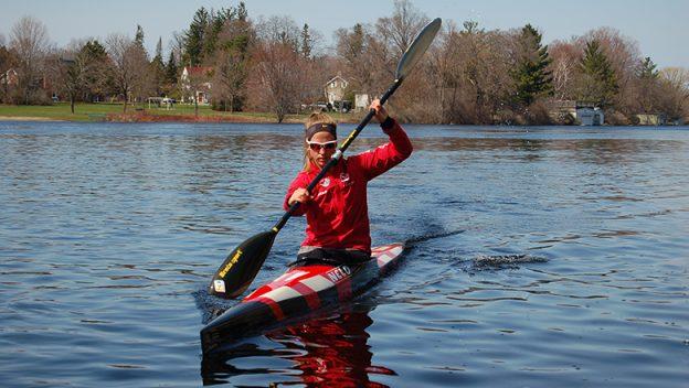 Carleton Place kayaker Monica Black.