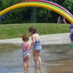 Water restrictions lifted, splash pad open