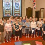 Shout Sister choir draws large crowd on first night