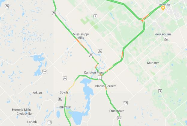traffic-map-highway7