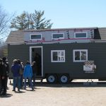 Sunshine lured hundreds to Tiny House Festival
