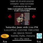 Tribute to our legend Stompin' Tom Connors