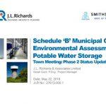 Schedule 'B' Municipal Class Environmental Assessment Potable Water Storage
