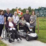 All-terrain wheelchair is new feature at Lanark Lodge