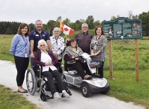 Lanark Lodge residents now have access to an all-terrain wheelchair for use on the accessible Tay River Pathway