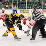 Sept 7, 2018-Smiths Falls Bears lose 4-3 to the Pembroke Lumber Kings in their Friday night home opener
