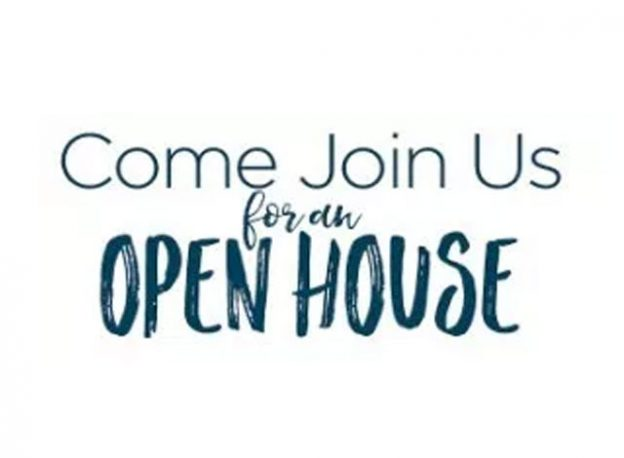 Come join us for an open house