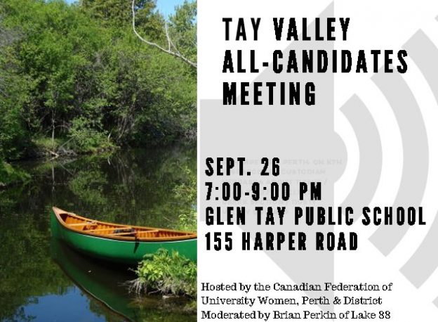 Tay Valley All-Candidates Meeting