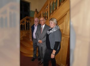 Sean Redmond, Doug Black and Theresa Fritz