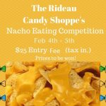 The Rideau Candy Shoppe's nacho eating competition