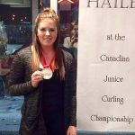 Curler Hailey Armstrong has goals of rocking the Olympics
