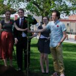 Smiths Falls Vimy Ridge oak takes root