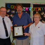 Local Salvation Army Majors honoured for their service to the community