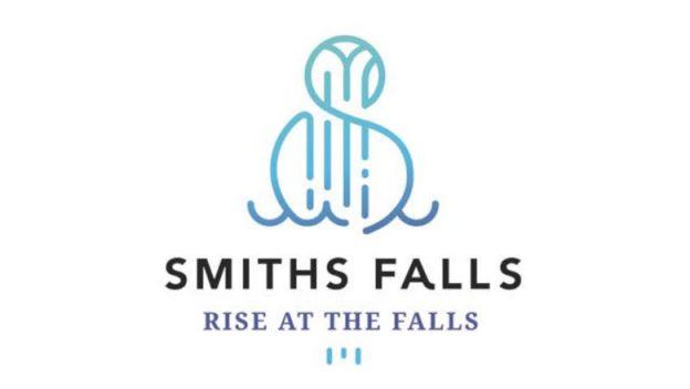 Smith Falls logo and slogan.