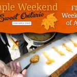 Celebrate maple syrup season at a local sugarbush during Maple Weekend April 7 and 8