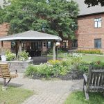 Lanark Lodge celebrates opening of new patio