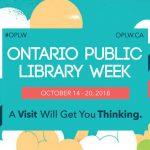 Libraries across Lanark County celebrate Ontario Public Library Week