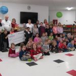 Chimo kids go home with new books
