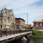 Mayor Doug Black announces major funding for central bridge project
