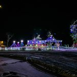 Sophia's animated Christmas light show- A son's love for his Father