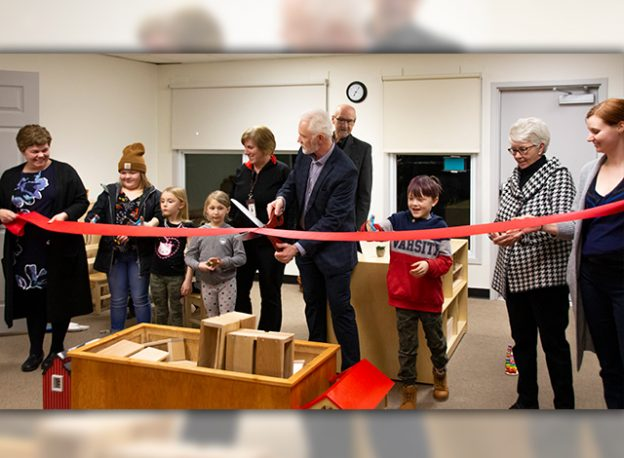 Reopening of the childhood development centre on Thurber Street