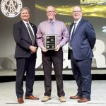 Dave Young recognized for years of service
