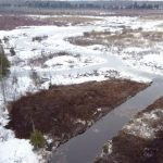 Winter work on Hutton Creek Marsh restoration complete