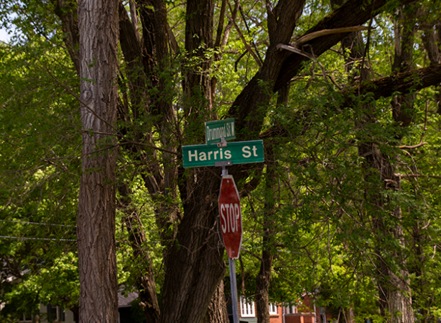 Harris Street sign Perth Ontario