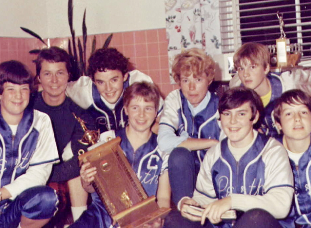 1968 Perth Girls' Softball Club team