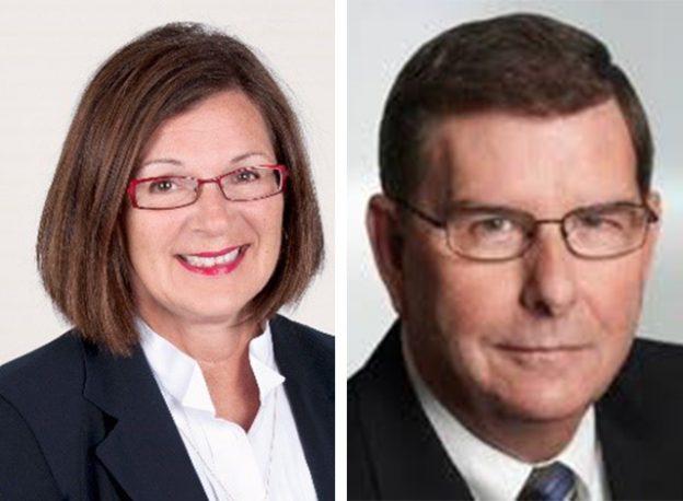 Carol Anne Esnard and Dave Perley