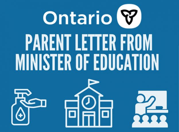 Parent Letter from Minister of Education