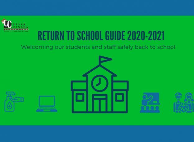Return to school 2020 - 2021