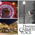 Downtown Carleton Place celebrates TEAMWORK with new downtown lighting scheme