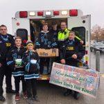 Help Lanark County Paramedics fill an ambulance with food