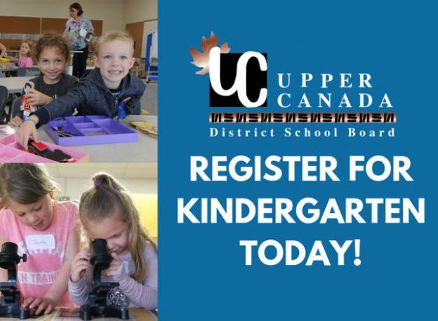 Register for Kindergarten Today!