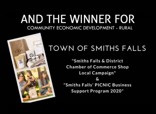 EDCO selected winner the Town of Smiths Falls