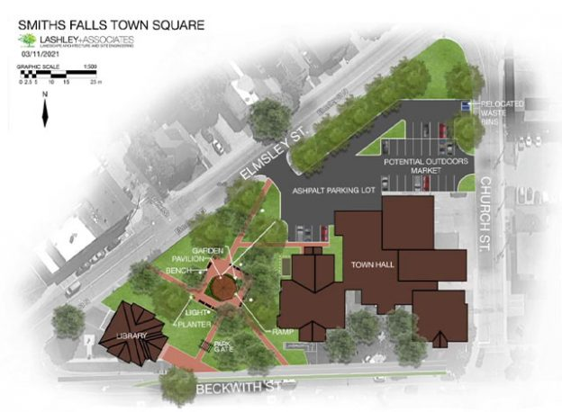 Smiths Falls Town Square