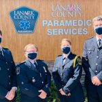 Four Lanark County Paramedics presented with bravery awards