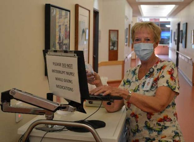 Registered Practical Nurse Cathy Porteous