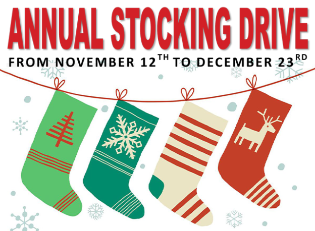 Annual Stocking Drive